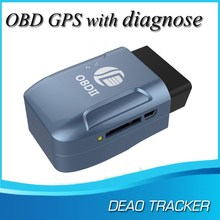 Mini obd ii gps gprs gsm car tracker with Cumulative Mileage and Average fuel consumption and monitor fuel tank volume function