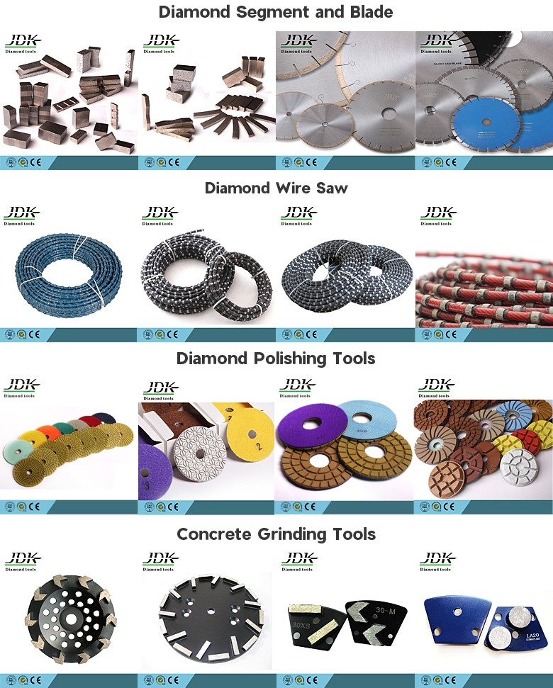JDK 3 Step Diamond Flexible Polishing Pads For Granite And Marble