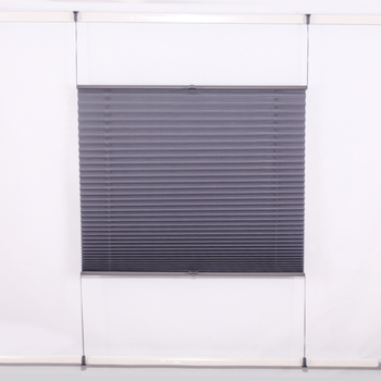 Suitable Decorative Items Cordless Tensioned Pleated Blinds for Living Room