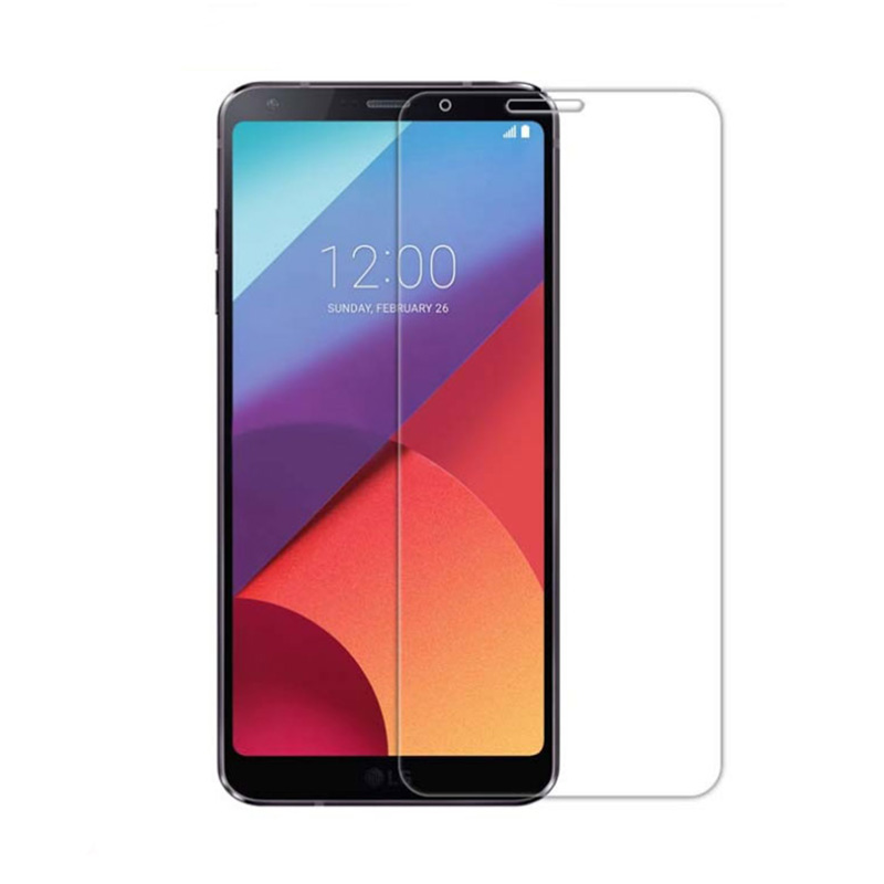 Premium 0.33mm 2.5D 9H Tempered Glass Screen Protector Skin Film Guard For LG Q6 with Safe Packing
