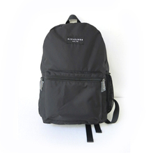 manufacture black oem 100% nylon bicycle backpack