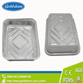 Food Grade Disposable Aluminium Foil Roaster Pan Tray oval alu foil plates