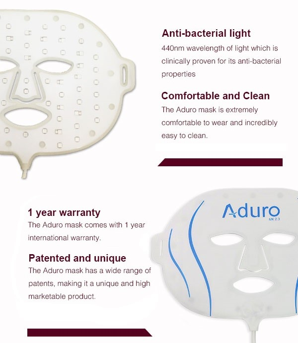 Aduro Anti-Acne LED mask