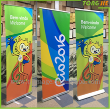 2018 Higher Quality Portable Tension Retractable Banner/Roll Up Banner/Pull up Banner stands wholesale