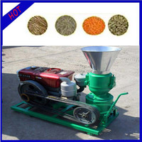 Energy saving manure pellet mill