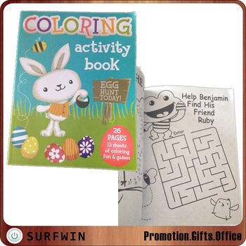 2017 best selling cheap kids coloring books