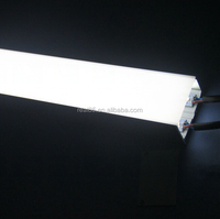 LED linear fixtures,customized length,recessed ,surface mount or supended installation,high brightness,3000K/4000K/5000K/5700K