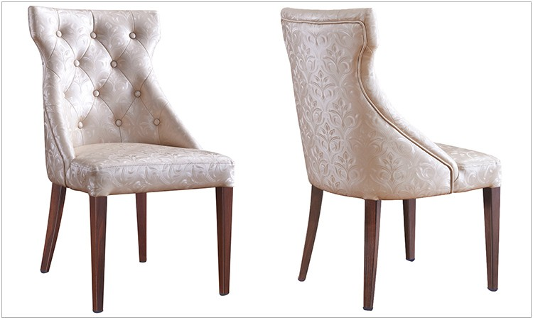 hotel furniture used upholstered dining room chair wood