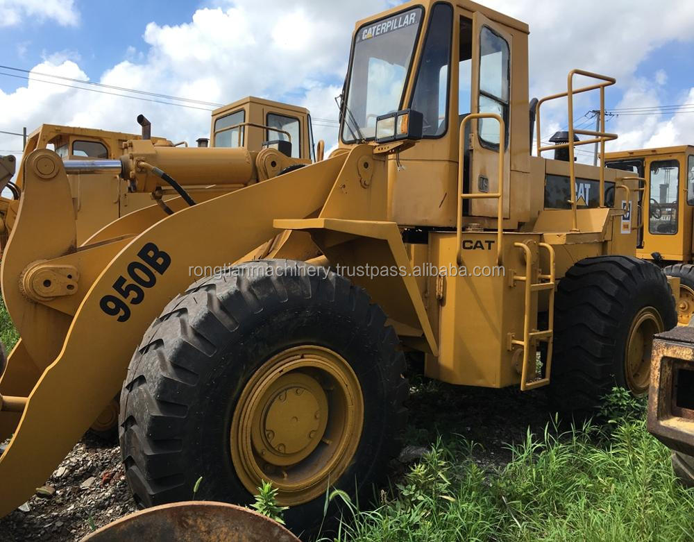 Good quality used cat wheel loader 950B for sale/ cat loader with low price