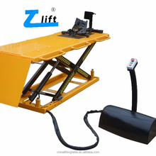 CE hydraulic Motorcycle/ Mower scissor Lift Table 500kg Capacity