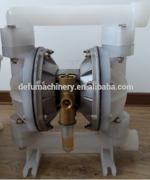 air operated rubber diaphragm pump for high-viscosity liquids