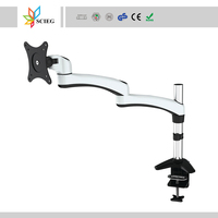 medical monitor bracket die cast aluminum plate lcd monitor bracket