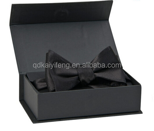 Necktie Packaging Box / Bow Tie Packing Box / Rigid Clip Package Paper Box