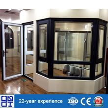 Cheap house windows and doors with aluminium profile for sale