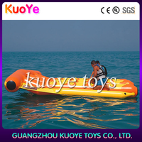 inflatable water fly fish/ banana boat/fly fishing tube