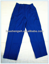 men's cotton work pants/ trousers strong and durable