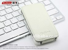 YOOBAO Slim Leather Case for iPhone4 real leather White