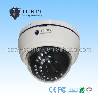 960p Dome Style voice recording wifi cctv camera with sony ccd