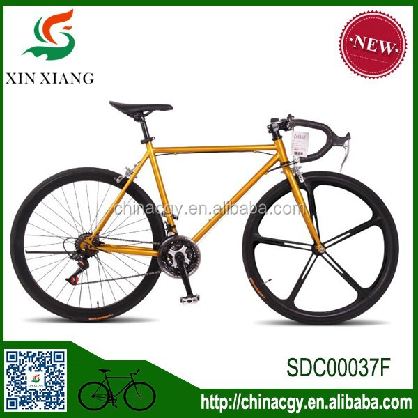 Factory direct sale 24 speed road cycling,front and real V brake personality man and woman's bike