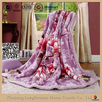 china suppliers alibaba bulk 100% polyester blanket king&queen mink blanket