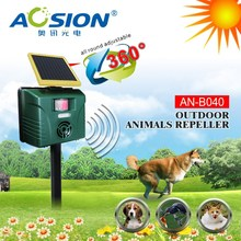 Aosion 2 year warranty motion activated Ultrasonic deer bear cat dog wild animal repeller for garden yard
