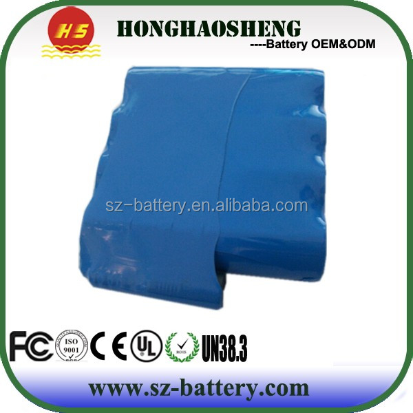 shen zhen manufacture 18650 7.4v lithium battery pack clean energy