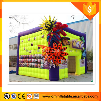 colorful art inflatable tent ,party tent, new dome