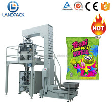 Kids biscuit/gummy bear candy food bulk bagging packaging machine