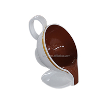 Shopping mall coffee cup stool decoration