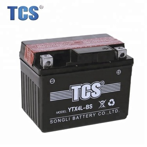 Hotsale MF motorcycle battery 12V4AH battery motorcycle parts YTX4L-BS