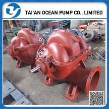 High capacity diesel water suction pump for flood drainage