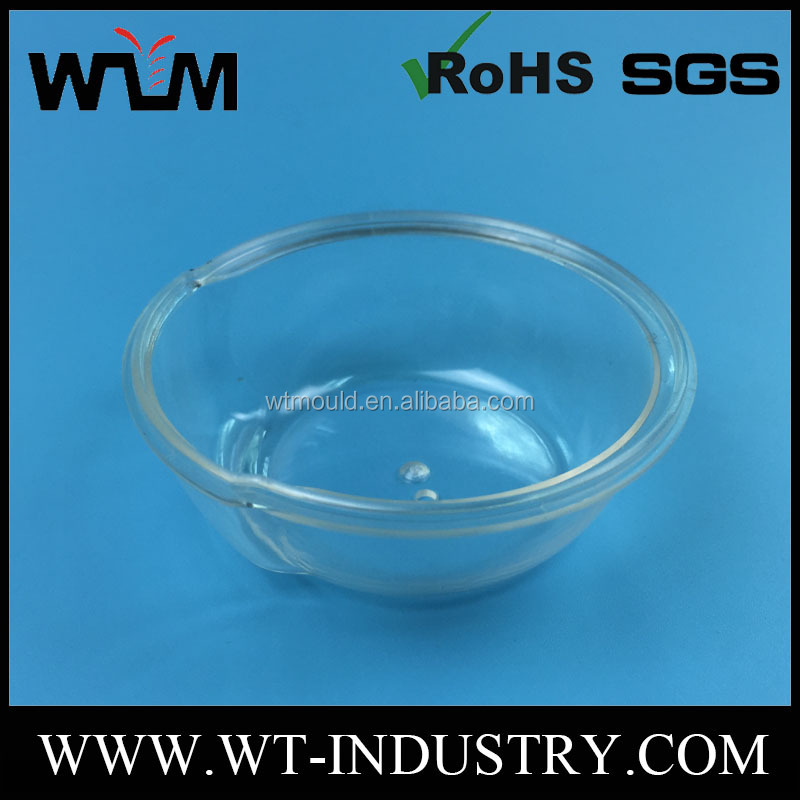 Custom Plastic Injection Molding Clear Bowl/Cover Molding Products Price