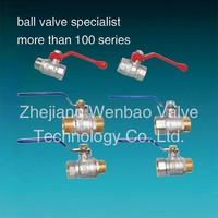 brass ball valve importer in delhi/Forged NPT full port brass lockable ball valvewith new bonnet steel handle