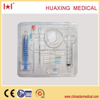 no damage anesthesia kit(epidural needle/anesthesia catheter/syringe/connector/liquid filter)