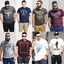 Wholesale high quality comfortable fat men Customized T-Shirts