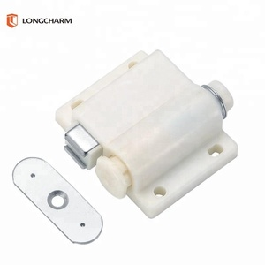 plastic push magnetic door touch latch for cabinet