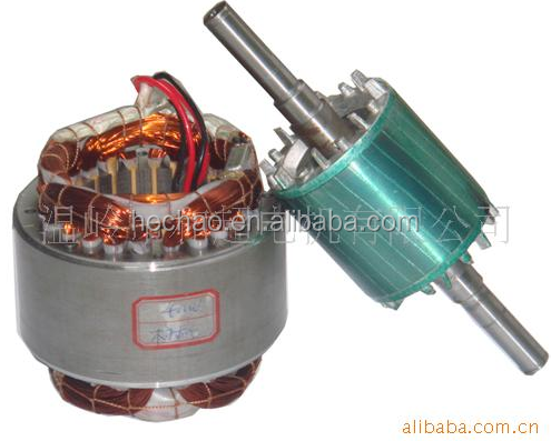 manufacture electric motor parts, rotor and stator