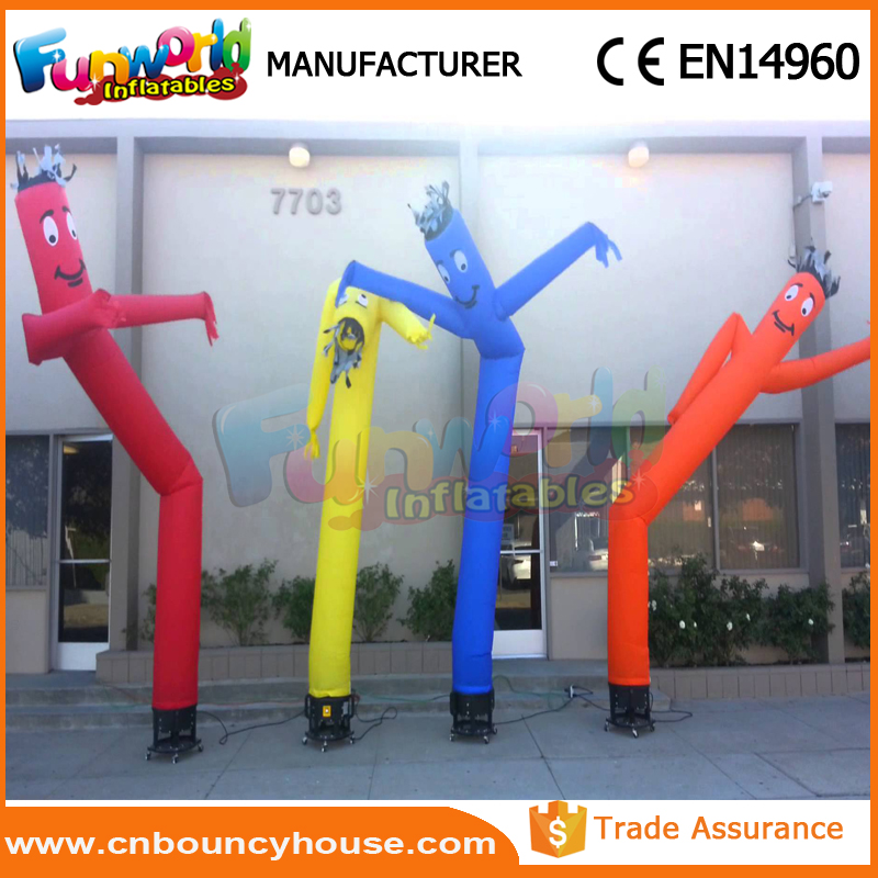 Attractive mini sky dance wind man inflatable sky dancer