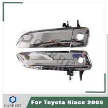 High Quality Quantum 2005-2010 Front Car Door Outside Handle for Toyota Hiace Parts