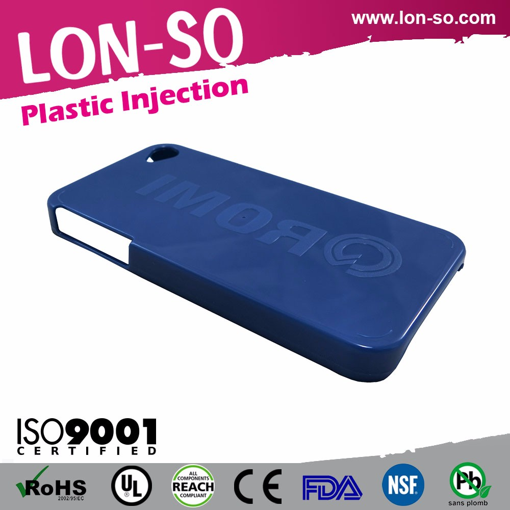 High quality Taiwan injection custom box plastic parts phone cases