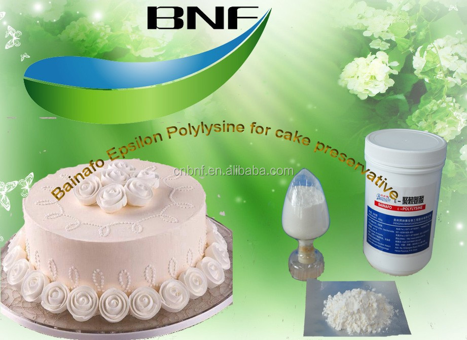 Professinal supplier Epsilon Polylysine for cake preservatives