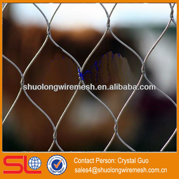 Hebei Factory fashional style stainless steel 316L cable fence systems