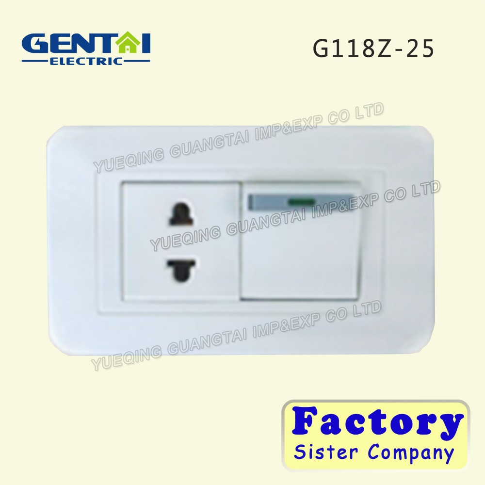 118 series-china cheap wall switch & socket