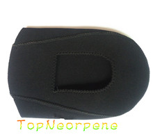 TopNeoprene China OEM factory Customize Neoprene Cycling Shoe Toe Cover with Blind Stithing