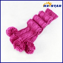 HZM-13547018 pink children high quality cheap wholesale scarf 100% acryl