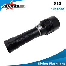 Wholesale IP68 1000lumen waterproof 100m rechargeable led underwater lighting / scuba diving torch / diving flashlight equipment