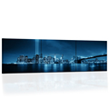 Hd Printed Brooklyn Bridge Panorama Canvas Painting Prints New York City Night View Wall Picture For Modern Home Decor Big Size