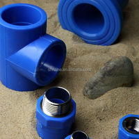 Brazilian market OEM blue color drink water plastic ppr tube ppr pipe fitting