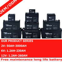 12 volt Sealed Lead acid battery 12v 17ah UPS battery 7ah 12ah 30ah 38ah 50ah 80ah etc