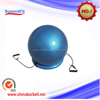 GYM BALL WITH BASE AND EXPANDER